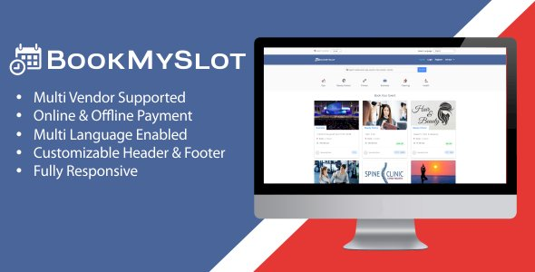 BookMySlot Nulled Script