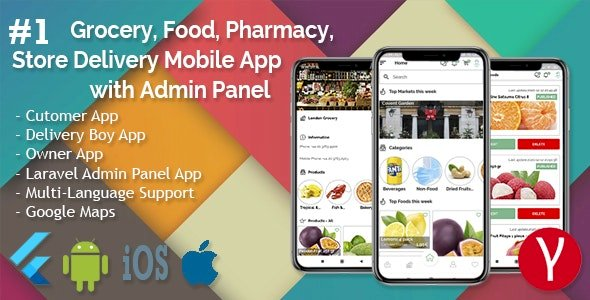 Grocery Store Delivery Mobile App