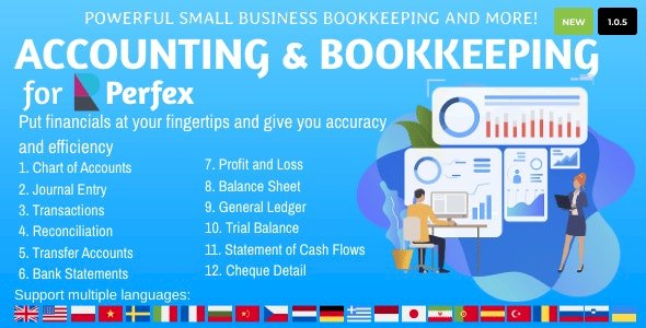 Accounting and Bookkeeping Nulled Script